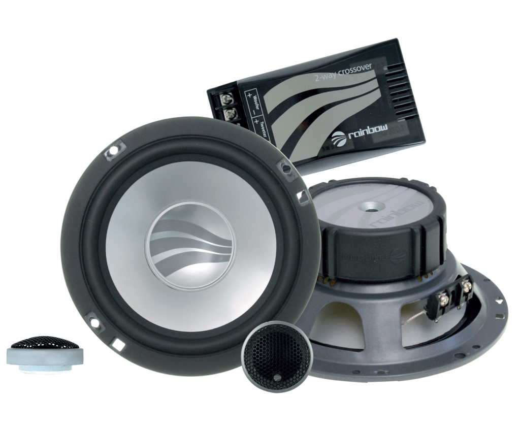 Rainbow SL-C6.2 6.5 inch component speakers from JC Installs in Christchurch
