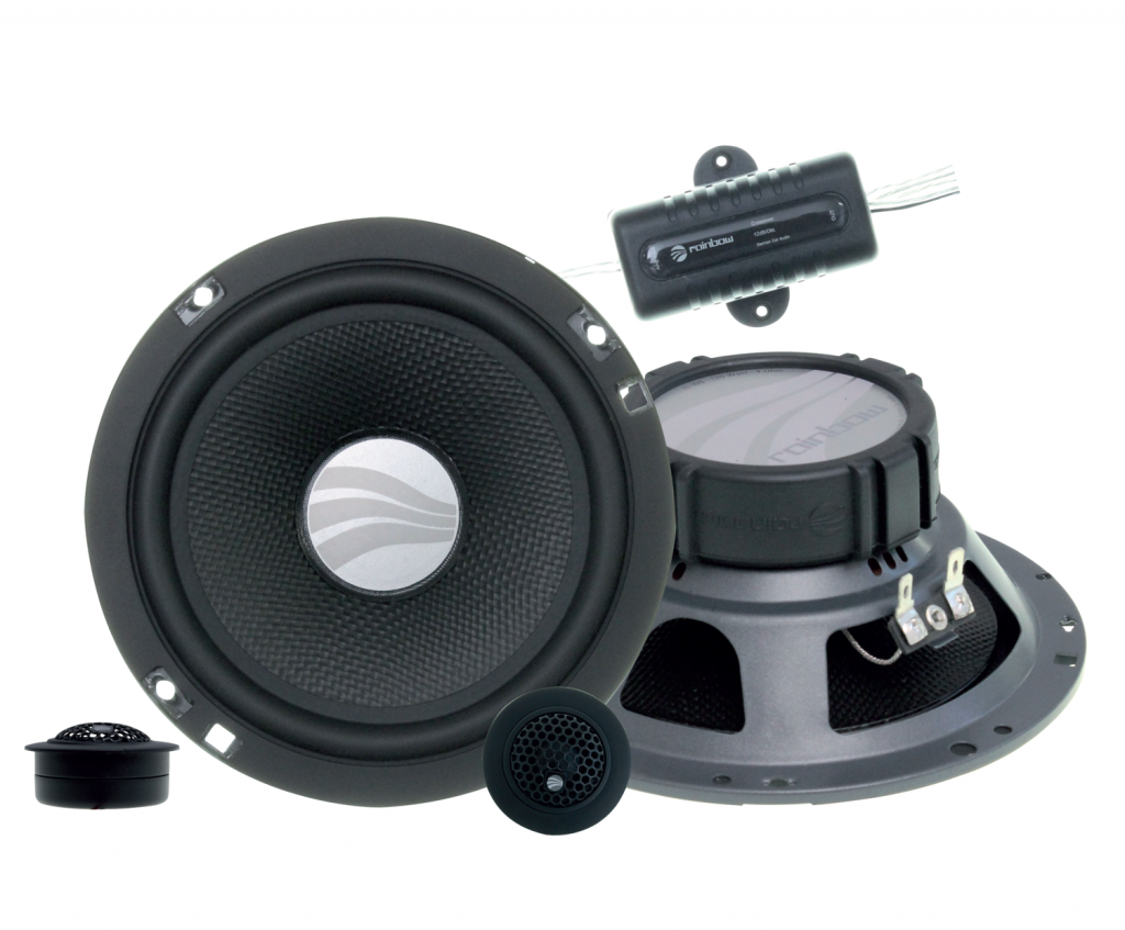 Rainbow EL-C6.2 6.5inch component speakers from JC Installs in Christchurch