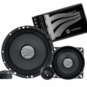 Rainbow DL-C6.3 3-way 6.5 inch component speakersfrom JC Installs in Christchurch