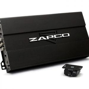 Zapco ST-204D.BT 4 ch amplifier with bass remote from JC Installs in Christchurch
