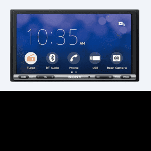 Sony XAV-AX3000 double DIN headunit from JC Installs in Christchurch