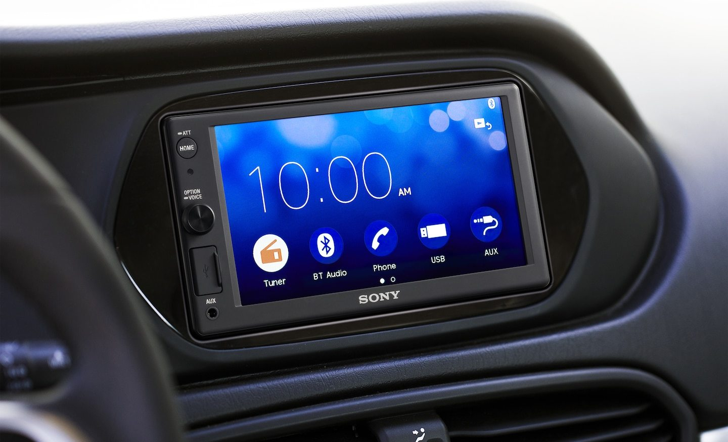 Sony XAV-AX1000 double DIN headunit from JC Installs in Christchurch